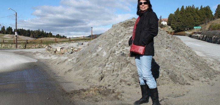 Cinzas vulcânicas em Bariloche